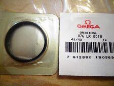 VINTAGE OMEGA 166.077, 600 SEAMASTER Ploprof BLACK flange anello di vetro (o81)