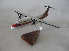 Aerospatiale ATR-42 Continental Express Airplane Desktop Wood Model