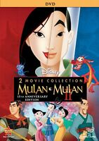 Mulan 1 & 2 (I and II) DVD - 2 DVD Set Combo Pack - Brand New!