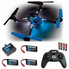Traxxas LaTrax 6608 Alias Quad-Copter RTR Brilliant Blue w/ 2x Extra Battery