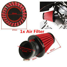 45° Bend Inlet Motorcycle Universal 42mm Air Intake Filter With Adjustable Clamp