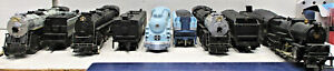 RIVAROSSI BLUE GOOSE AND THE OTHERS STEAM LOCOMOTIVES HO SCALE 5 LOT (NO BOXES)