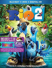 Rio 2 Blu-ray + DVD NEW factory sealed 2 disc set