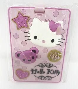 New 2009 Sanrio Germany Hello Kitty Pink Luggage Tag Rare