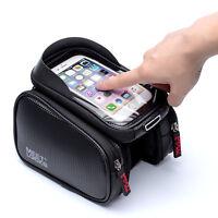 MEETLOCKS 5.7 Inch Bicycle Cycling Bike Frame Pannier Bag Mobile Phone Pouch