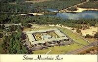 Stone Mountain Inn ~ 18 miles from Atlanta Georgia GA ~ aerial view 1960s