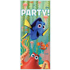 FINDING DORY PLASTIC DOOR POSTER ~ Birthday Party Supplies Decorations Sign Blue