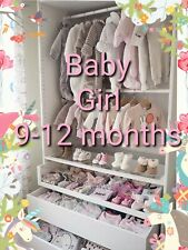Bebé niña prendas de vestir hacer su propio paquete de tamaño 9-12 meses Vestido Traje Para Nieve Abrigo