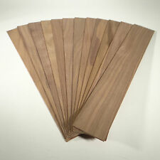 "Walnut craft and hobby wood strips 3/32"" x 2 1/16"" x 13"""