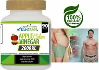 Apple Cider Vinegar Capsules 2000 mg with The Mother Keto Diet Supplement