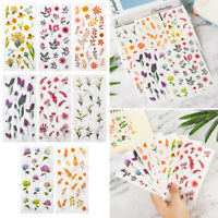 Stationery DIY Self-Adhesive Stickers Scrapbooking Diary Label Paper Sticker