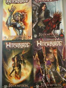 WITCHBLADE REDEMPTION Vol 1,2,3,4 SET TP TPB $61.96 SRP Stephen Sejic NEW NM