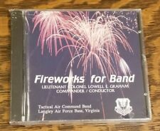 Fireworks For Band Tactical Air Command Band Langley Air Force Virginia CD New