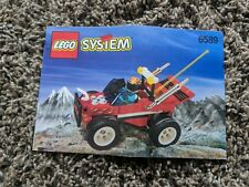 Lego instruction manual booklet 6589 off road race car
