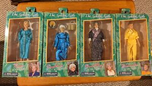 NECA THE GOLDEN GIRLS FULL SET CLOTHED FIGURES