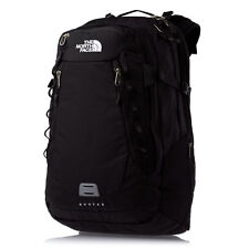 New The North Face Router Backpack Laptop Approved Black