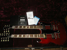 Gibson Custom Shop 2008 EDS 1275  Double Neck Electric Guitar with  Case