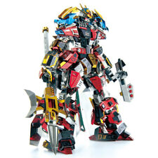 Microworld LYUBU Warrior 3d Metal Puzzle DIY Assemble Model Kits toy R003