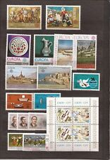 TURKEY-Europa sets ( 8) from 1975-1982