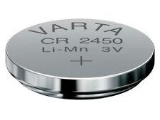 2x VARTA CR2450 Lithium Markenbatterien CR 2450 NEU
