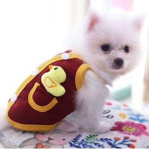 XXS-3XL Winter Warm Dog Vest Small Dog Clothes Puppy Coat Jacket Pet&Cat Clothes