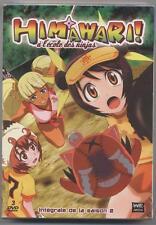 NEUF COFFRET 3 DVD HIMAWARI !A L ECOLE DES NINJAS INTEGRALE SAISON 2 SOUSBLISTER