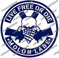 Skull,Bandanna,1791,2A,Gadsden,Molon Labe,Dont Tread On Me,Stickers,Vinyl Decal