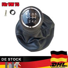VW T5 Schaltknauf Schaltmanschette Mit Rahmen 6 GANG M*
