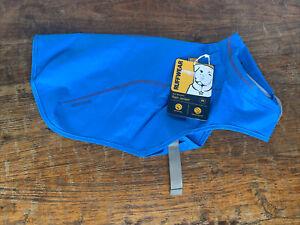 Ruffwear Sun Shower Dog Waterproof Reflective Rain Jacket- X Small - Blue - NWT