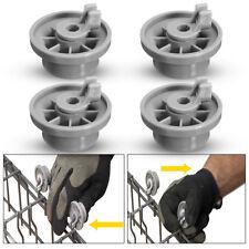 4pcs Dishwasher Lower Bottom Basket Roller Wheel 165314 For Bosch Neff & Siemens