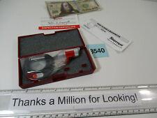 Starrett 211 Round Anvil Micrometer 211xp 0 1 X 001 Oem Case Ln