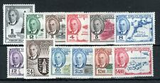 British Virgin Islands 1952 set to $4.80 mainly MNH