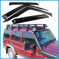 fit for Landcruiser 76 Series Weather shields Window Visor Wagon Work Mate GSL