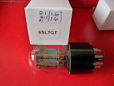 6SL7 6SL7GT Billington Gold equilibrata sezioni Tubo Valvola Nuovo 1 PC