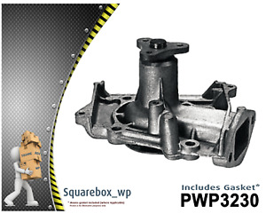 Water Pump PWP3230 fits KIA Mentor Mentor 1.5L DOHC BS 1/87 - 4/98