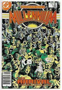 Millennium #1 (DC, 1987) – Batman – Superman – Flash – Green Lantern – VF-