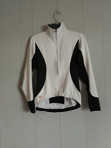 CASTELLI - MEN'S M  - BLACK White GORE WINDSTOPPER ROSSO CORSA CYCLING JACKET