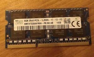 Hynix 8GB DDR3L-1600 PC3L-12800S CL11 RAM 204 SO-DIMM 1.35V Arbeitsspeicher