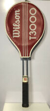 Vintage Wilson T3000 Tennis Racquet with Cover Great Preowned!