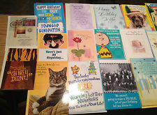 CLOSEOUT BIRTHDAY CARDS LOT 0F 70 most all BIRTHDAY some  Sound HALLMARK /AM GRT