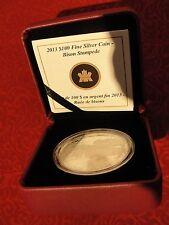 Royal Canadian Mint- 2013 $100 Face Value Bison Stampede Silver Coin