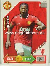 Adrenalyn XL Manchester United 11/12 - #035 Patrice Evra - Red Devil