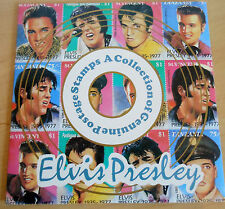 Elvis Presley Commemorative Edition 15th Anniversary of His Death 9 Stamps