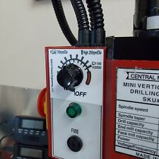 Spindle Speed Label for Mini Mills, NEW!