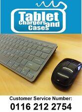 Mini Teclado Y Mouse Inalámbrico Negro conjunto de caja para Samsung UE46F6500SB Smart TV