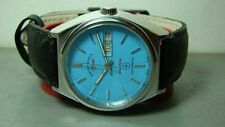 VINTAGE WEST END AUTOMATIC DAY DATE SWISS MENS WRIST WATCH OLD USED ANTIQUE K555