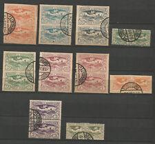 Commission de Gouvernement Haute Silésie années 20 20 timbres oblitérés /T5015