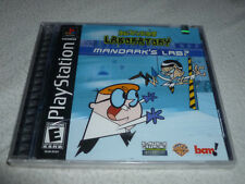 FACTORY SEALED PLAYSTATION PS1 GAME DEXTERS LABORATORY MANDARKS LAB NEW NFS WB >