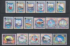 Guernsey - 1998, 1p - Maritime Heritage set less - MNH - SG 785/801