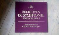 Cofanetto 2 LP Beethoven/Karajan - Sinfonia 8 & Ix / Condizioni